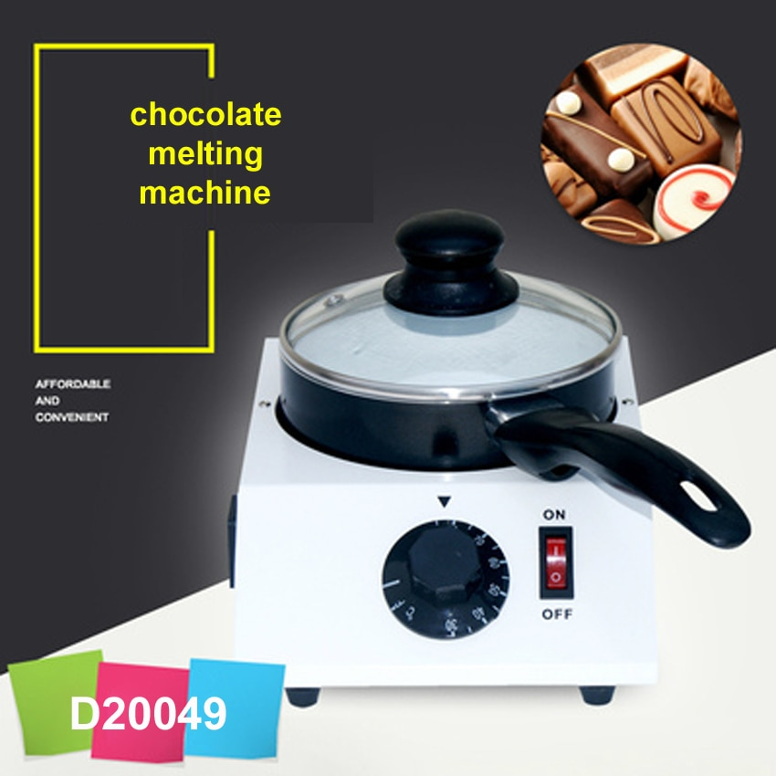 1 ud. Máquina eléctrica de templado de chocolate; estufa de fundidor de chocolate; máquina de fusión de chocolate