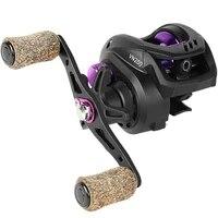 baitcasting reel 6 51 high speed 7kg max drag fishing reel metal spool cork knob centrifugal brakes power fishing reel pesca