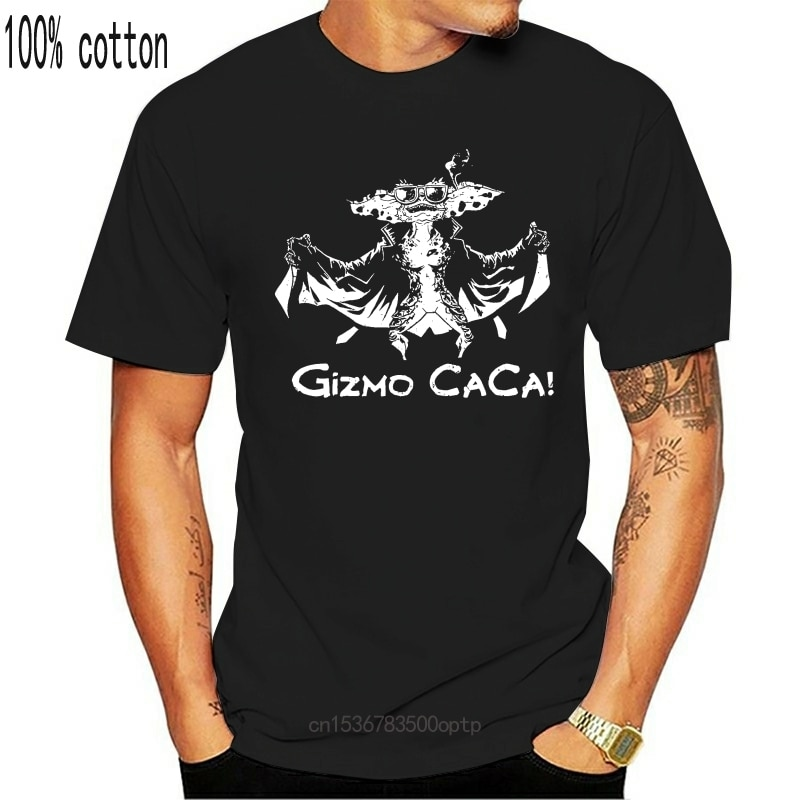 New Gizmo Caca T Shirt Gremlins Dont Let It Get Wet Never Feed It After Midnight Tee