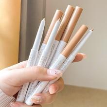 1Pc Double-Headed Eye Shadow Cosmetics Eyelid Highlighter Lying Silkworm Eyeshadow Crayon Pen Beauty