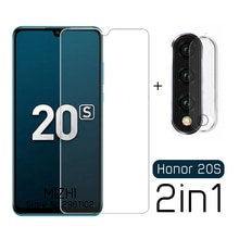 2 in 1 camera glass honor 20s protective glass for huawei honor 20 s s20 mar-lx1h 6.15'' honor20