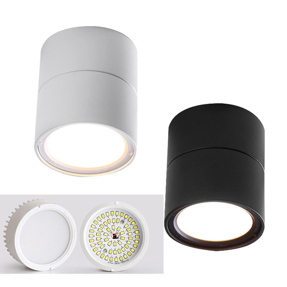 JOYINLED-مصباح سقف LED ، مصباح سقف إسكندنافي 7 وات ، قابل للاستبدال ، مثبت على السطح ، لغرفة المعيشة الداخلية