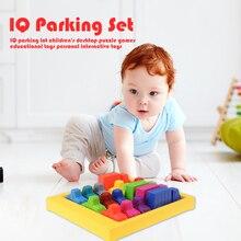 Racing break IQ Board  Game Car Puzzle Toy Creative Plastic Rush Hour Logic Game Developmental Game Toys
