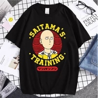 2021 hot sale summer time couple wears one punch man printed popular style tshirts same style for men and women fashion t shirts