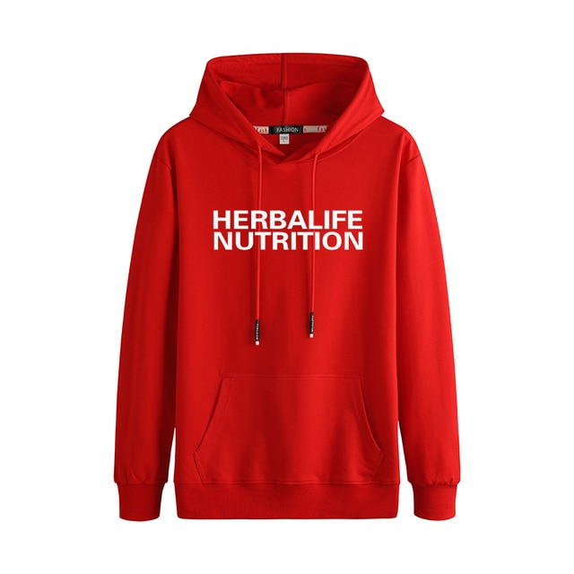 herbalife nutrition Autumn And Winter Fashion Trend Casual Stitching Couple Hooded Sweater 4