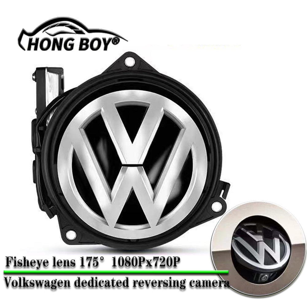 OBD مسار ديناميكية الرؤية الخلفية السيارات الوجه الخلفي الجذع مقبض الكاميرا ل Volkswagen جولف 4 5 6 7 8 GTI R مقاوم للماء للرؤية الليلية