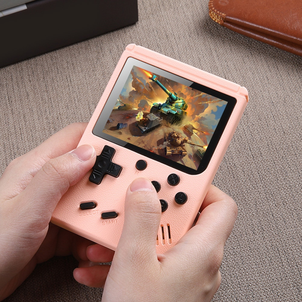 Adults Kid Handheld Pocket Game Console Retro 500 in 1 Video Mini Gamepad Player for Children Festival Birthday Gifts Supplies