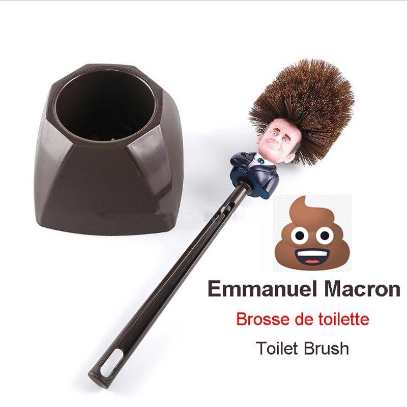 Щетка для унитаза Emmanuel Macron Brosse WC Brosse De Toilette