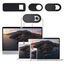 1/3/6Pcs T1 T10 S1 Ultra-Thin Webcam Covers Lens Cap Web Portable Camera Cover For Laptops PC Macboo
