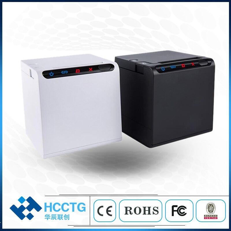 Alta qualidade 80 milímetros bill impressoras de recibos térmica USB + LAN + WIFI + Bluetooth Para Cozinha do Restaurante POS impressora com cortador automático