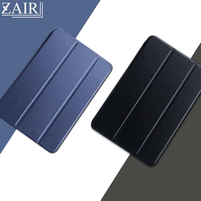 Funda protectora de piel sintética para tableta Apple ipad, carcasa triple de...