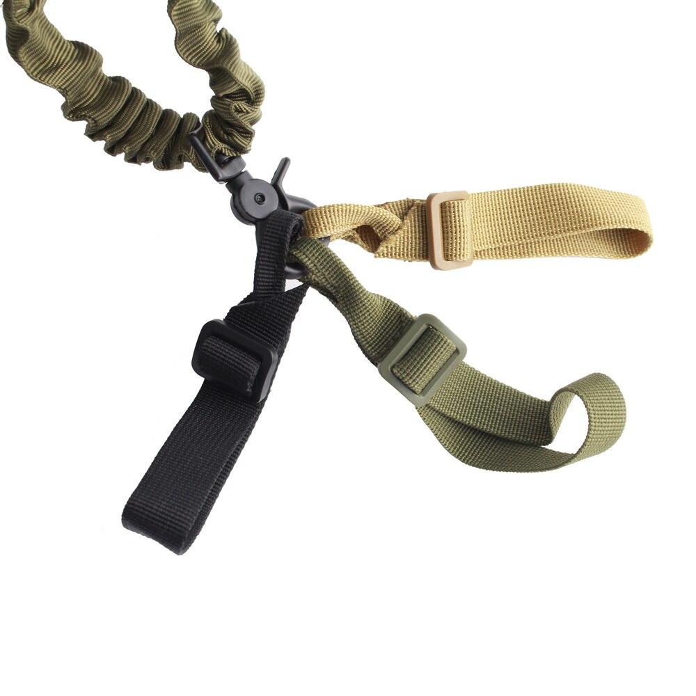 Magorui 1 pçs buttstock sling montagem cinta loop adaptador webbing rifle acessório ajustável tático arma estilingue airsoft sling