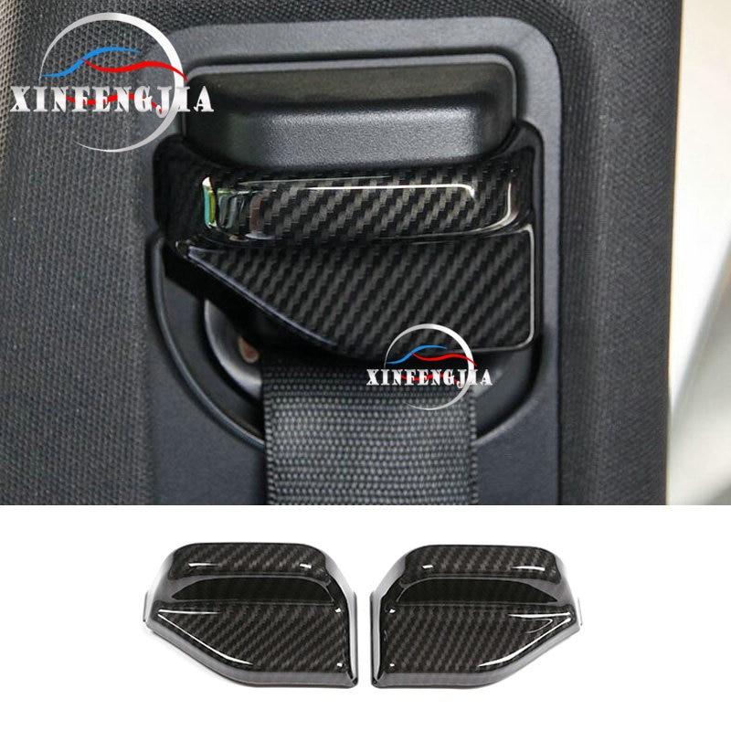Для Mercedes-Benz A B CLA GLA класс W246 W176 C117 X156 13-19 углеродное волокно Цвет сиденья пояс безопасности столб крышка отделка