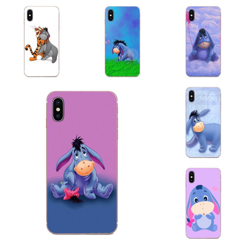 Burro Igor citas Pooh de teléfono TPU suave para Huawei Nova 2 V20 Y3II Y5 Y5II Y6 Y6II Y7 Y9 G8 G9 GR3 GR5 GX8 primer 2018 de 2019