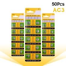 50pcs AG3 SR41 192 bouton batterie 392A L736 LR41 392 384 pile alcaline montre compteur électronique batterie dinstrument