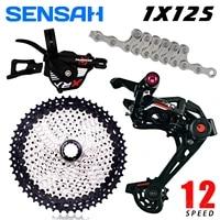 sensah xrx 1x12 finger dial release adjustable rear dial 12 speed flywheel zrace sprocket mtb mountain bike m8000 h l new