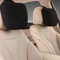 maybach design s class soft universal adjustable car pillow neck rest cushion top quality car headrest neck support seat