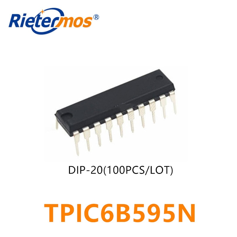 100 قطعة TPIC6B595N TPIC6B595 DIP20 DIP-20 الأصلي