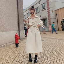 CMAZ Spot Sales Volume Product Trench Coat 2021 Spring and Autumn Clothing New Windbreaker Zhejiang