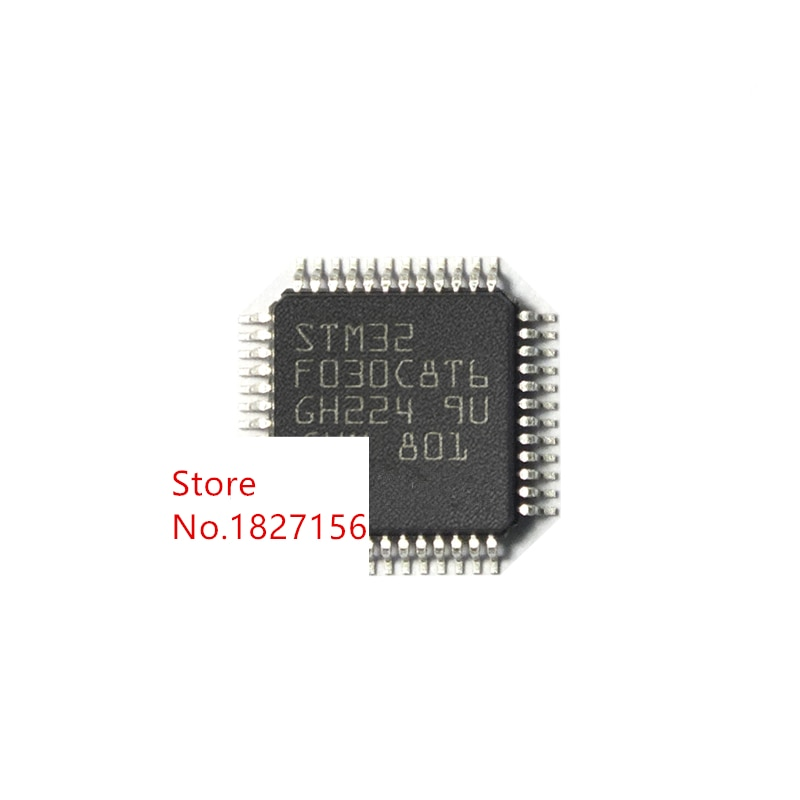 20 piezas STM32F030C8T6 STM32F030C8 QFP48 ARM Value-line ARM basado en 32 bits MCU con 16 a 64 KB Flash IC nuevo