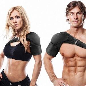 Adjustable Sports Fitness Shoulder Straps One Shoulder Anti-strain Shoulder Strap Fixed Compression Shoulder