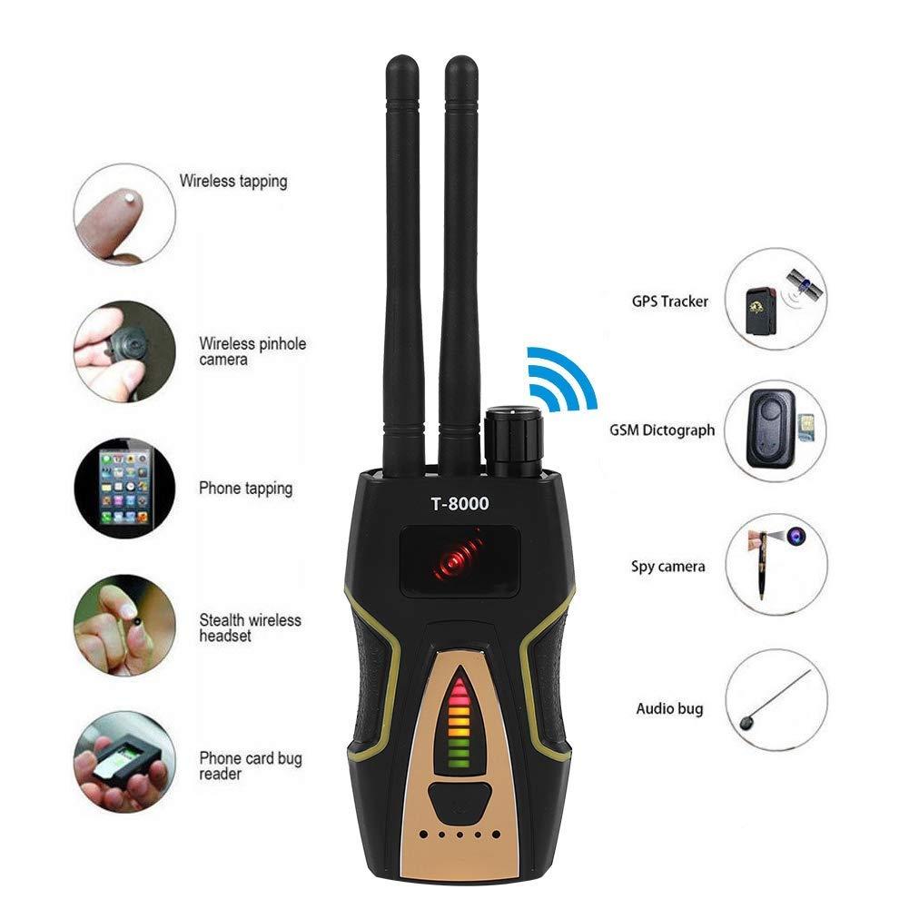 T8000 Anti-Spy Wireless RF Signal Detector GSM Audio Finder GPS Scan Detector