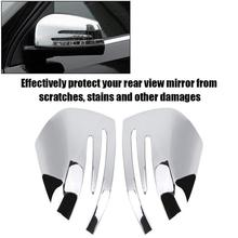 Chrome Deur Mirror Cover Trim Spiegel Regen Vizier Board Sneeuw Guard Voor Mercedes-Benz Gla Cla X156 C117 W212 w204 Auto Styling