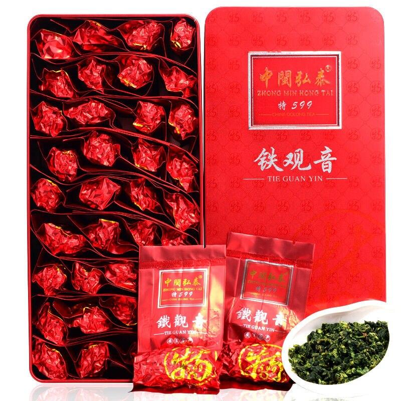 Oolong نكهة رائحة قوية * قسط Anxi التعادل كوان غوان يين tiager anin الصين شاي التخسيس 250g صندوق