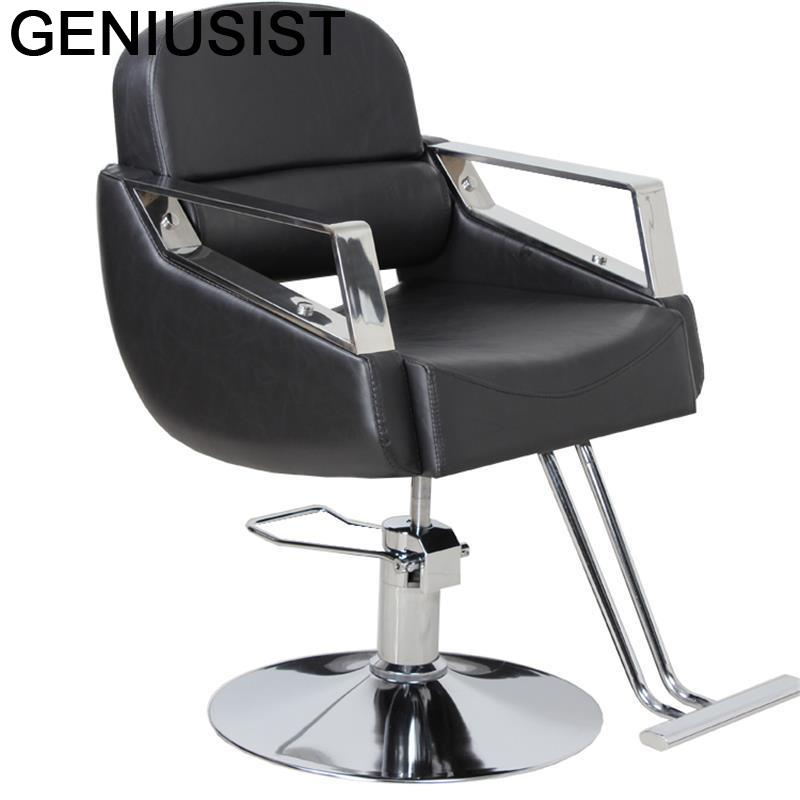 Barbero Fauteuil Barberia De Belleza Schoonheidssalon Cabeleireiro Stoel Hair Chaise Silla Barbershop Cadeira салон парикмахерское кресло