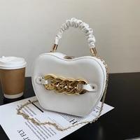 new personality handbags 2021 trendy small shoulder bag woman luxury designer chain messenger bags mini black crossbody hand bag