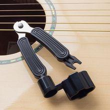 3In1 الغيتار الوتد سلسلة ويندر سلسلة دبوس بولير القاطع الغيتار أداة مجموعة ملحق PXPF