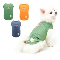 pet dog clothes spring and summer clothes with back teddy bears for small dog ice silk thin insect resistant fabric dog clothing