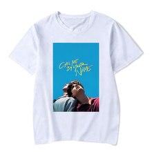 Appelez-moi par votre nom film hommes T-shirts pour homme mode dété décontracté haute qualité à manches courtes T-shirt mâle
