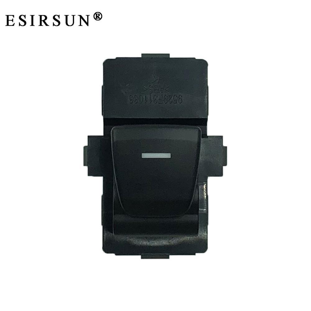 Esirsun janela de vidro levantador botão interruptor de controle com luz apto para hyundai creta ix25, 93580c9000, 93580-c9000