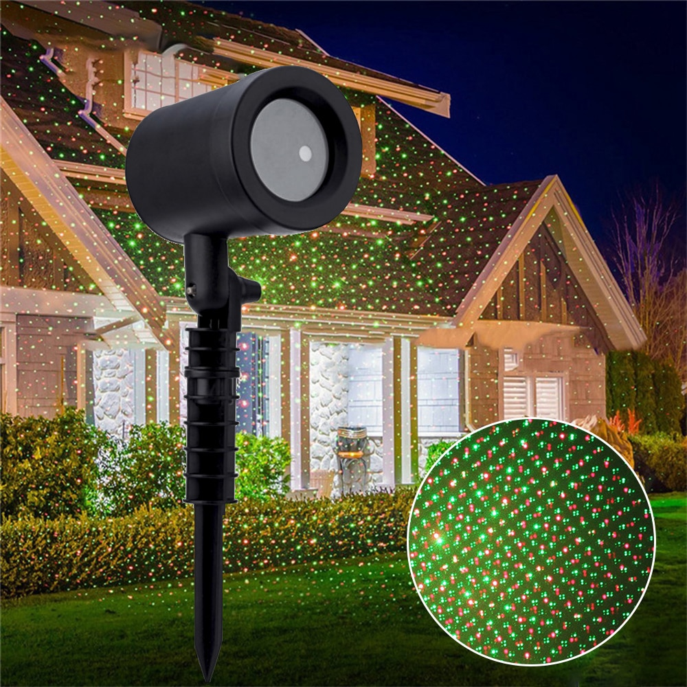 outdoor waterproof led stage light garden tree moving laser projector christmas party home decoration effect lamp New Moving Sky Star Laser Projector Outdoor Waterproof Landscape Lighting Christmas Party LED Stage Light Garden Lawn Laser Lamp