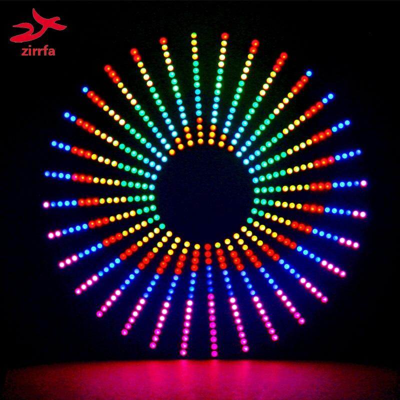 زيرفا الملونة RGB الرقص الخفيفة cubeed ، led الإلكترونية لتقوم بها بنفسك الانتهاء