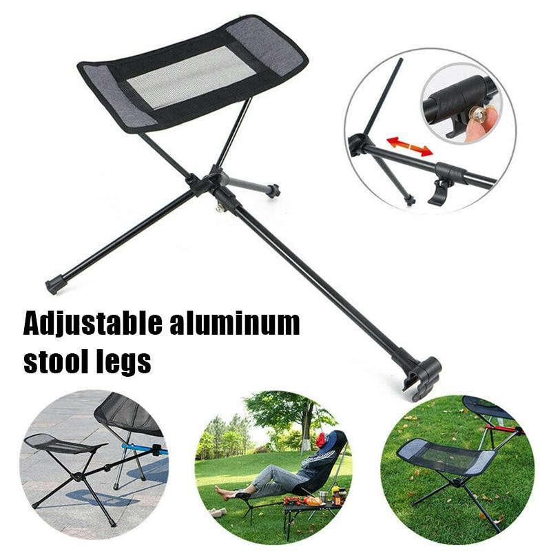 Silla Plegable portátil para exteriores, Taburete telescópico para patas, Pedal de aluminio, Kamp, sandalisi, Plegable
