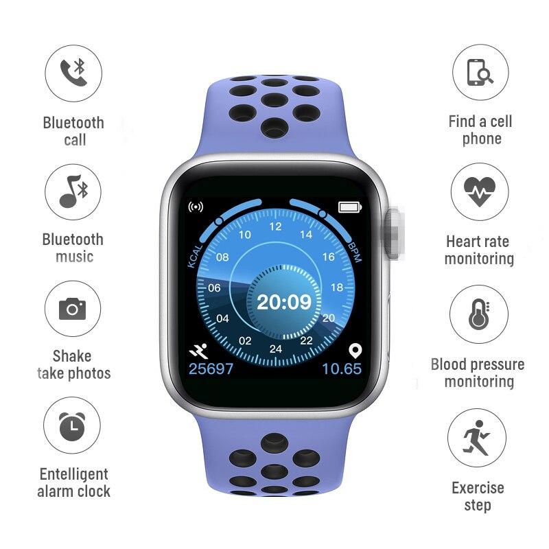 T500 Smart Watch ip67 Waterproof Bluetooth call Music Play 42MM Serie 5 Heart Rate Smartwatch PK IWO12 IWO8 W34