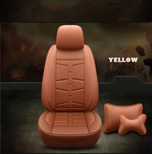 Пользовательские сиденье автомобиля кожаный чехол для Peugeot 206 CC 307 CC 308 SW 407 3008 607 4008 307SW сиденья поддерживает аксессуары автомобильные аксессуары