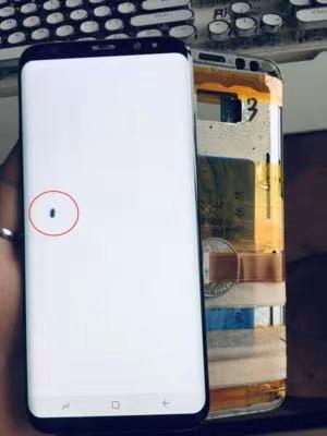 S8 S8plus S9 S9plus G9500 G9650 الميت بكسل عيب السائل كريستال محول الأرقام شاشة تعمل باللمس الجمعية اختبار ملحقات الهاتف الذكي
