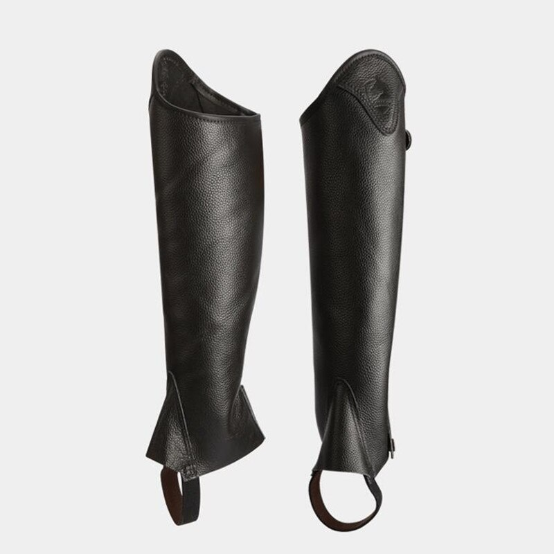 Cavassion half-chaps  Leather half-chaps for men and women, comfortable and breathable Knight equipment  Protect knight leg
