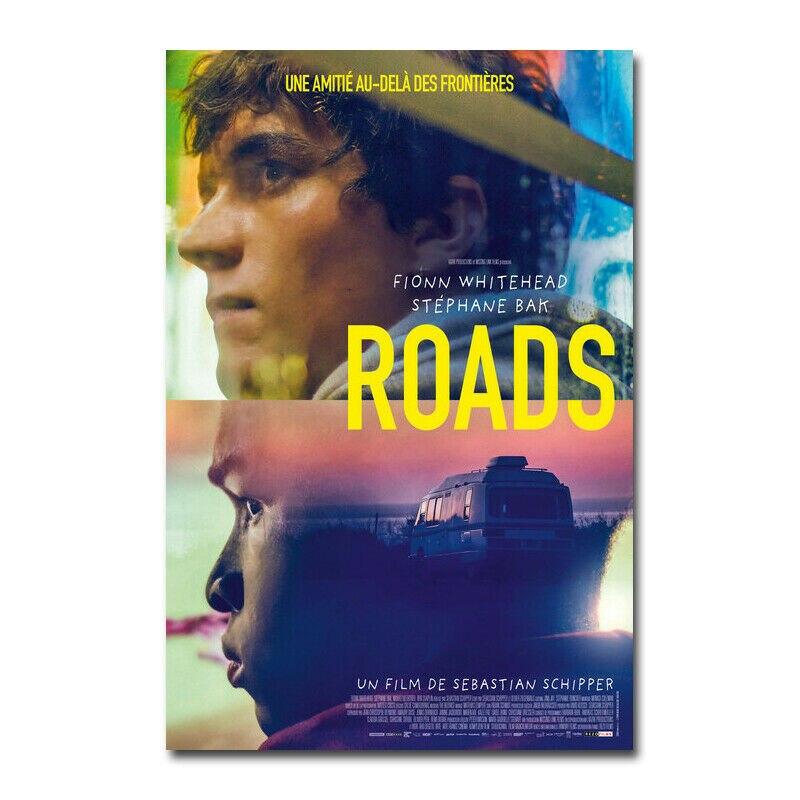 D0309 routes film soie tissu affiche Art décor peinture dintérieur cadeau