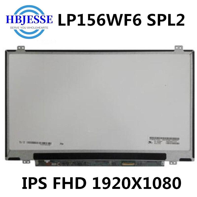 IPS LP156WF6-شاشة LCD LCD مقاس 15.6 بوصة ، نماذج متوافقة ، استبدال المصفوفة ، 1920x1080