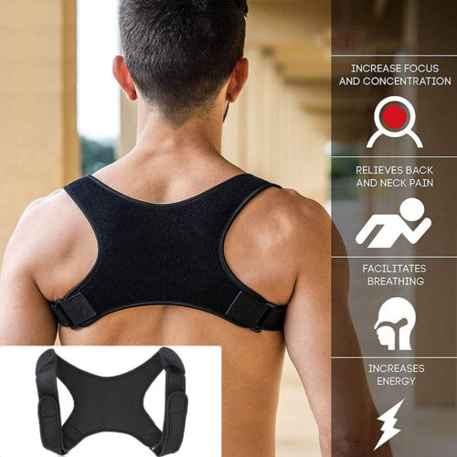 2021 New Spine Posture Corrector Protection Back Shoulder Posture Correction Band Humpback Back Pain Relief Corrector Brace