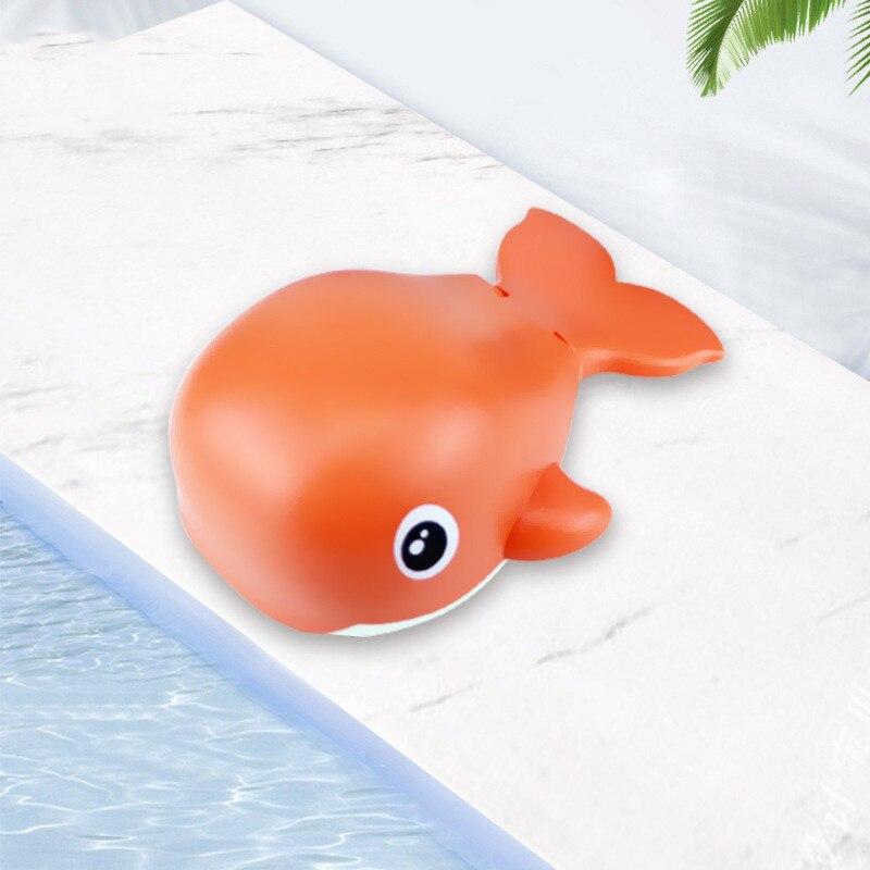 Baby Bathing And Playing In The Water Fun Cute Iittle Whale  Beautiful Cartoon Chain Fish Swimming U