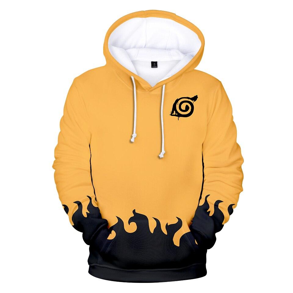 Harajuku Naruto 3D Hoodie Cosplay Children Adults Size Kpop Sweatshirts Men/boy Hoodies Naruto Clothing High Quality Pullover
