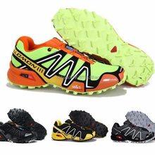 Hot Sale Salomon-Shoes Speed Cross 3 CS Men Outdoor Sport Breathable Sneakers Speedcross Male zapati