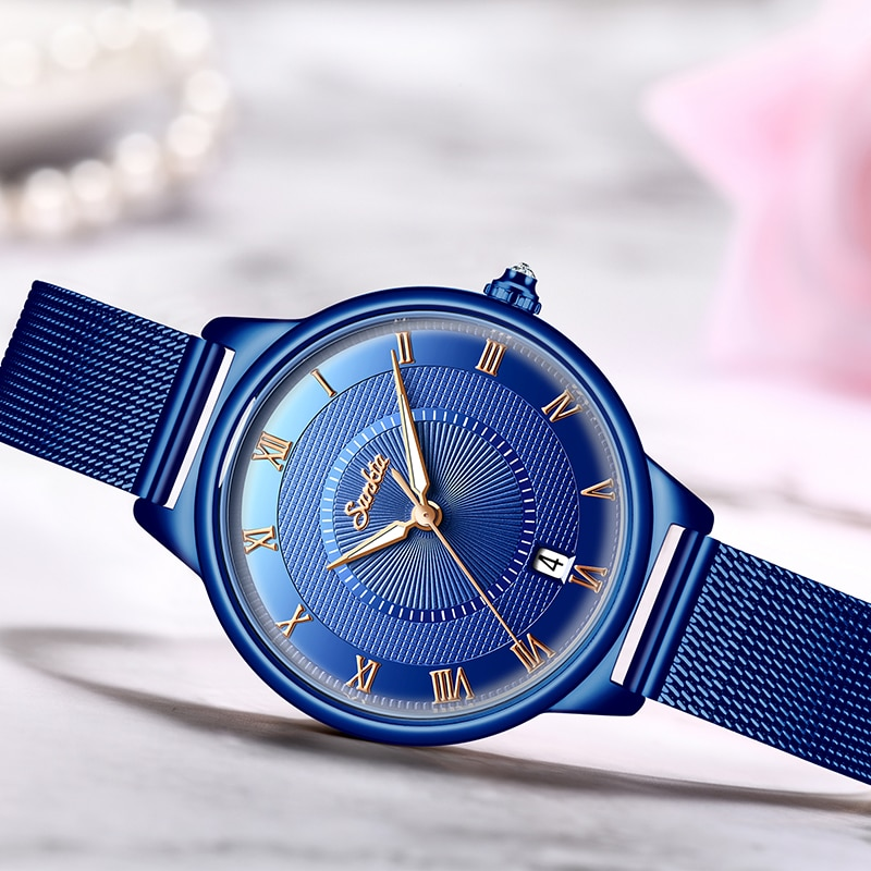 SUNKTA Watch Women Simple Business Quartz Watch Top Brand Luxury Creative Design Women Watches Girl Clock Relogio Feminino enlarge