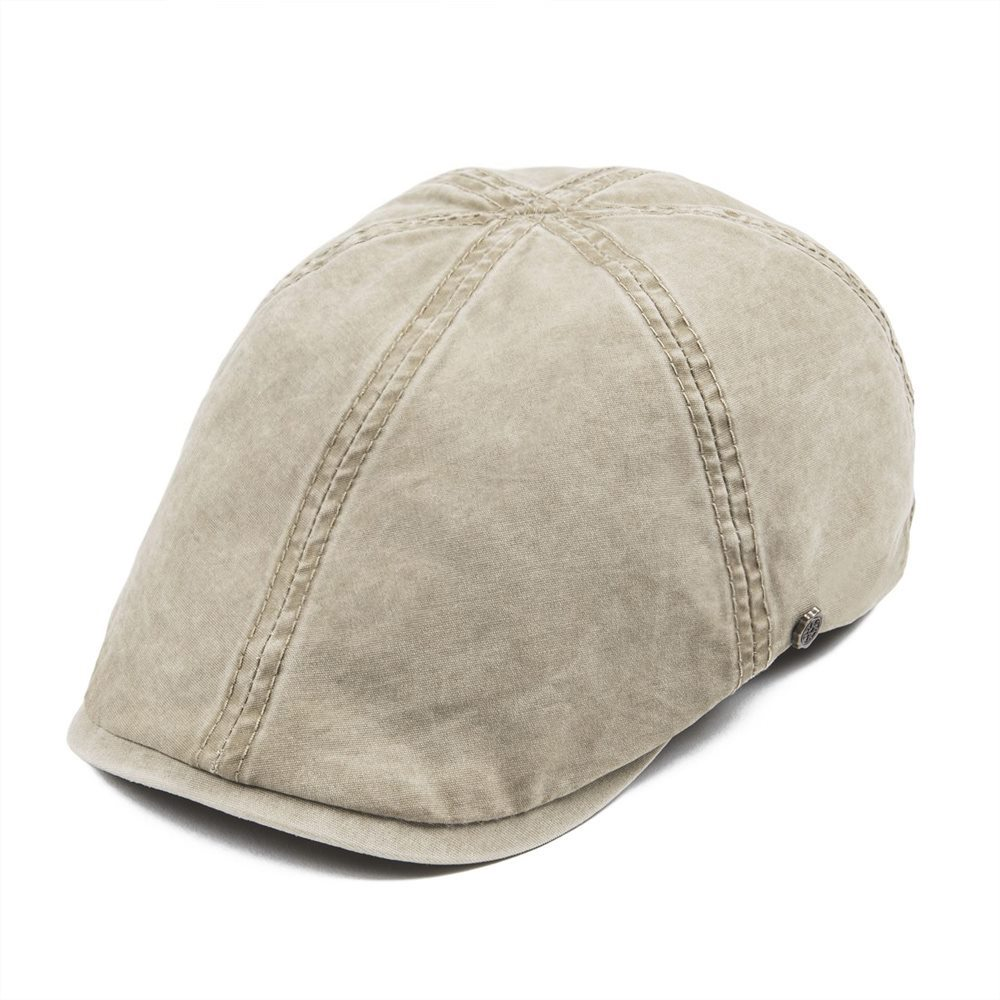 VOBOOM verde lavado de algodón gorra de repartidor de hombres temporada Ivy gorras planas 6 Panel taxista sombrero de chofer chico Baker gorras Gatsby mujeres Boina 157