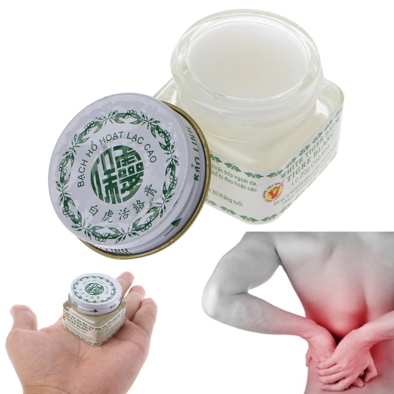 Vietnam White Tiger Balm For Headache Toothache Stomachache Vaume Blanc